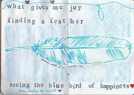 The Joy Diary, page 12 and 13